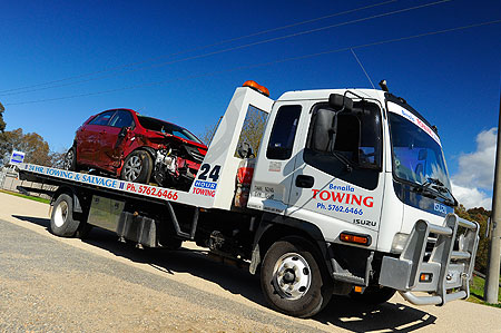 Benalla Towing - Accident Recovery